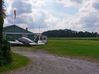 Trinca Airport (13N) - The modest office and the grass strip both lend a very rural feel to this little airport. - by Daniel L. Berek