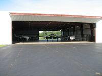 Williamsport Regional Airport (IPT) - The other GA hangar at Degol.  l to r; N169DK, N999SE, N818JP - by Sam Andrews