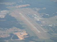 Winchester Regional Airport (OKV) - Zoomed in from 5500' - by Sam Andrews