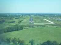 Fleming-mason Airport (FGX) - Final approach Runway 7 - by Mark Pasqualino