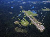 Crystal Lakes Resort Airport (01MT) - Ultra Private Air Strip - by Bob LeBlanc