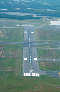 Long Island Mac Arthur Airport (ISP) - A View of 15R from final...a little high. - by Stephen Amiaga