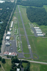 Lincoln Park Airport (N07) - Lincoln Park from about 1500 MSL - by Stephen Amiaga