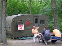 Vette/blust Seaplane Base (96WI) - Dispensary at the seaplane base - by Jim Uber