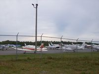 Hancock County-bar Harbor Airport (BHB) - General Aviation Ramp - by Mark Pasqualino