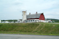 Sky Acres Airport (44N) - The Barn at 44N = Nice Cafe inside, great $100. hamburgers. - by Stephen Amiaga