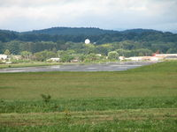 Williamsport Regional Airport (IPT) - Looking east from the approach end of RWY9 - by Sam Andrews