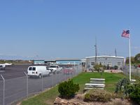 Ocean City Municipal Airport (26N) - This lovely little airport on the New Jersey shore features a playground and picnic area for future aviators. The gray terminal building is a local diner. - by Daniel L. Berek