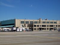 Theodore Francis Green State Airport (PVD) - Old hangar North Ramp - by Mark Pasqualino