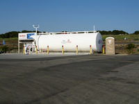 Fallbrook Community Airpark Airport (L18) - Gas tanks and pumps @ Fallbrook Community Airpark Airport, CA - by Steve Nation