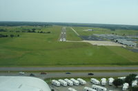 Augusta Municipal Airport (3AU) - Landing on 18 - by Rob Kuhns