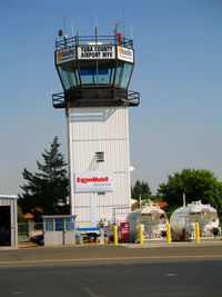 Yuba County Airport (MYV) - Control tower (not active) at Yuba County Airport - Marysville (photographer friendly), CA - by Steve Nation