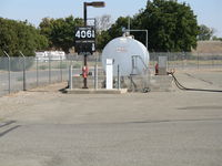 Sutter County Airport (O52) - Gas pumps at Sutter County Airport, Yuba City, CA - by Steve Nation