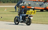 Wilson Industrial Air Center Airport (W03) - How's that for a Follow Me ride? - by Paul Perry
