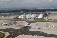 Frankfurt International Airport, Frankfurt am Main Germany (FRA) - Very busy outer parking positions - by Micha Lueck