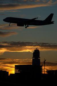 Vienna International Airport, Vienna Austria (VIE) - Sunset over vienna - by Yakfreak - VAP