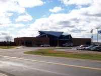 St Cloud Regional Airport (STC) - Airline Terminal - by Mark Pasqualino