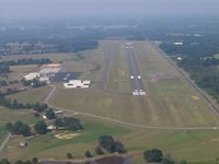 Albertville Rgnl-thomas J Brumlik Fld Airport (8A0) - Approach Runway 23 - by Jerry Cofield