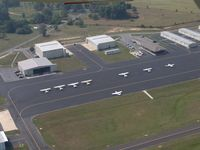 Albertville Rgnl-thomas J Brumlik Fld Airport (8A0) - FBO Ramp Area - by Jerry Cofield