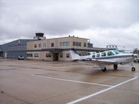 Des Moines International Airport (DSM) - General Aviation ramp - by Mark Pasqualino