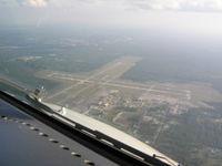 Cecil Airport (VQQ) - Former US Naval Air Station, Cecil Field; Now MRO base - by John J. Boling