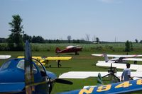 Walter's Agri-center Airport (WI28) - Aircraft on the Ground at Rio Creek Airport during the 2003 Fly-In - by Justin Dauck