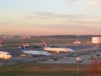 Hartsfield - Jackson Atlanta International Airport (ATL) - Early morning from hotel - by Florida Metal