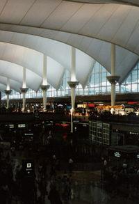 Denver International Airport (DEN) - Inside Terminal 1996 - by Florida Metal