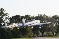 Spruce Creek Airport (7FL6) - Planes take off in formation at Spruce Creek - by Florida Metal