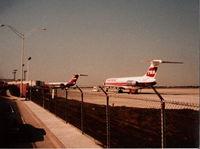 Blue Grass Airport (LEX) - Lexington 1987 - by Florida Metal