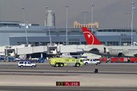 Mc Carran International Airport (LAS) - Emergency Vehicles headed somewhere... - by Brad Campbell