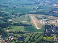 Albert Lea Municipal Airport (AEL) - View from South looking North - by ebwells