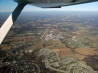 Carroll County Rgnl/jack B Poage Field Airport (DMW) - passing DMW looking north - by Herb Harris