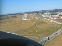Carroll County Rgnl/jack B Poage Field Airport (DMW) - On final rwy 34 - by Herb Harris