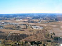 Carroll County Rgnl/jack B Poage Field Airport (DMW) - downwind for the right base to rwy 34 - by Herb Harris