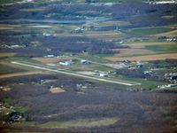 Somerset County Airport (2G9) - approaching from the east - by Herb Harris