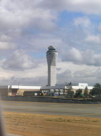 Seattle-tacoma International Airport (SEA) - New Control Tower at Seatac - by John J. Boling