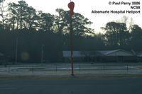 Albemarle Hospital Heliport (NC98) - Elizabeth City's small, but paved and lit pad - by Paul Perry