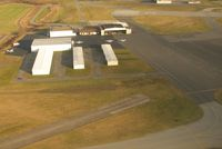 Williamsport Regional Airport (IPT) - A nice aerial view of the one and only FBO on the field. - by Sam Andrews