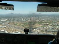 Scottsdale Airport (SDL) - Final RWY 21 KSDL - by Peyton Sullivan
