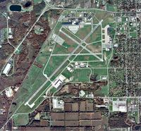 W K Kellogg Airport (BTL) - Overhead Photo - by Professional Service