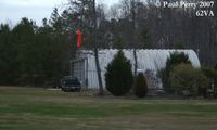 Grasso Salvage Airport (62VA) - The hangar at a small private facility - by Paul Perry