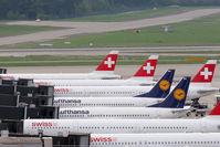 Zurich International Airport, Zurich Switzerland (ZRH) - Gates B at Zurich Airport - by Lötsch Andreas