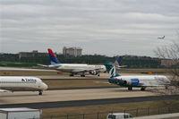 Hartsfield - Jackson Atlanta International Airport (ATL) - From south garage - by Florida Metal