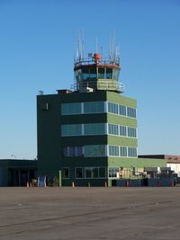 Lake Charles Regional Airport (LCH) - Old tower which should still be in use. This is not the terminal. - by Michael Bludworth