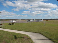 Jacksonville Executive At Craig Airport (CRG) - The Flight line at North Florida Flight Center - by Sam Andrews