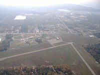 Mason County Airport (LDM) - Ludington Airport looking south - by John Woody