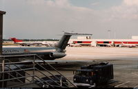 Hartsfield - Jackson Atlanta International Airport (ATL) - Eastern DC-9 in 1986 - by Florida Metal