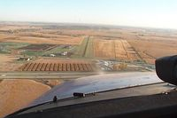Marion Airport (C17) - On final for 17 - by Craig Rairdin