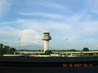 Galeão - Control Tower at Rio - by John J. Boling